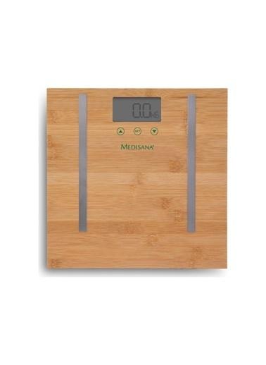 Medisana Medisana 48456 Vucut Analizli Bambu Baskül Renkli